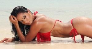 ¡Bien cerca! Norkys muestra su bikini completico y a detalle (+FOTOS)