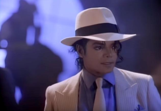"Foto: Michael Jackson en ""Smooth Criminal"""