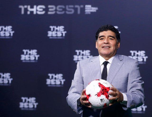 El exfutbolista argentino Diego Maradona (Foto: Reuters)