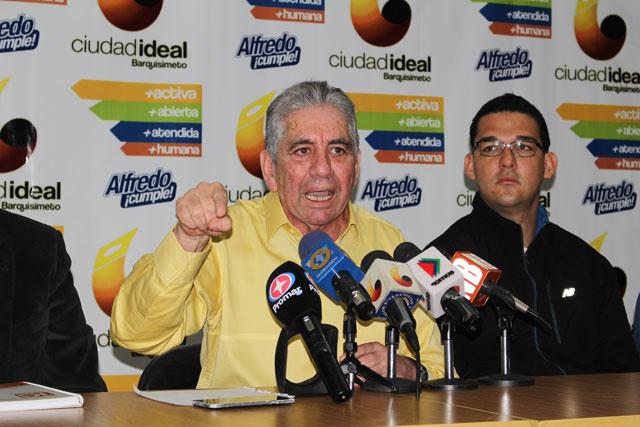 Alfredo Ramos asegura que Maduro introdujo amparo en su contra
