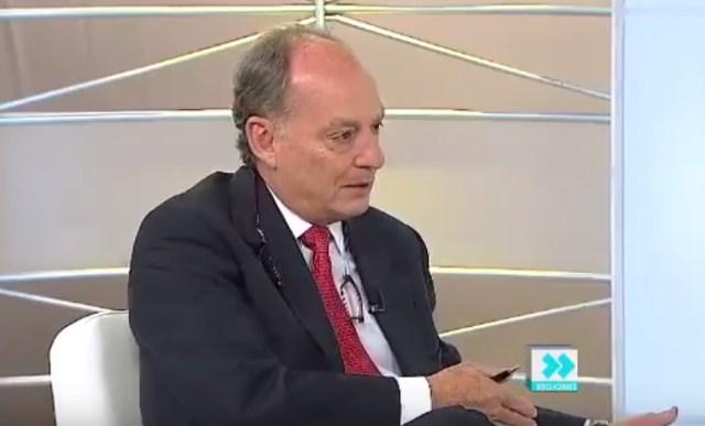 Juan Andres Sosa, presidente de la Cámara Venezolana de la Construcción / captura