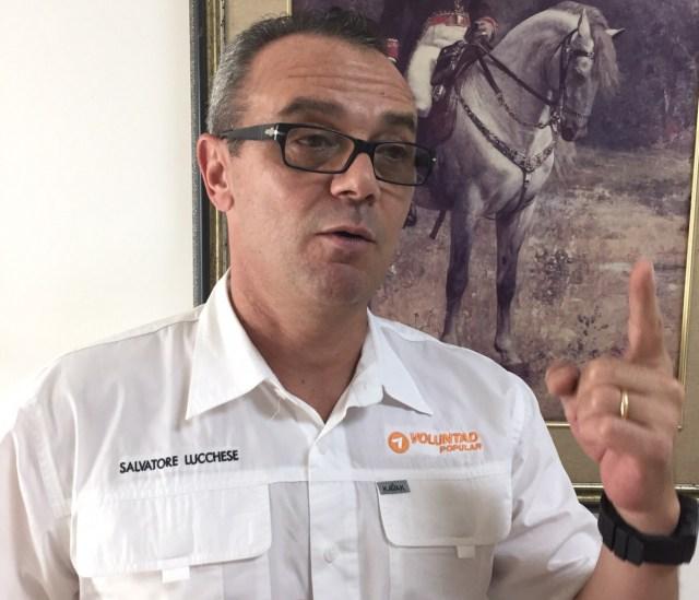 Salvatore Lucchese, dirigente de Voluntad Popular / Foto Archivo
