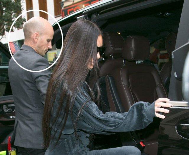 chofer parisino de Kim Kardashian