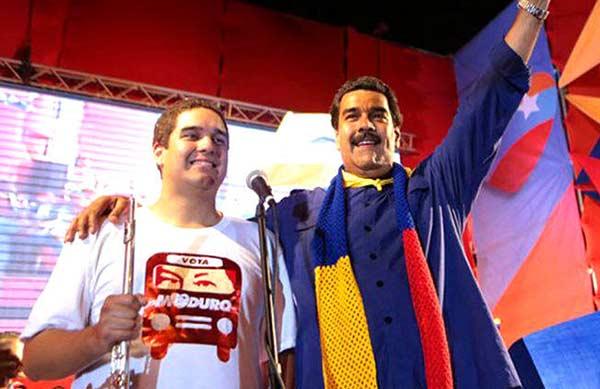 Nicolas Maduro hijo