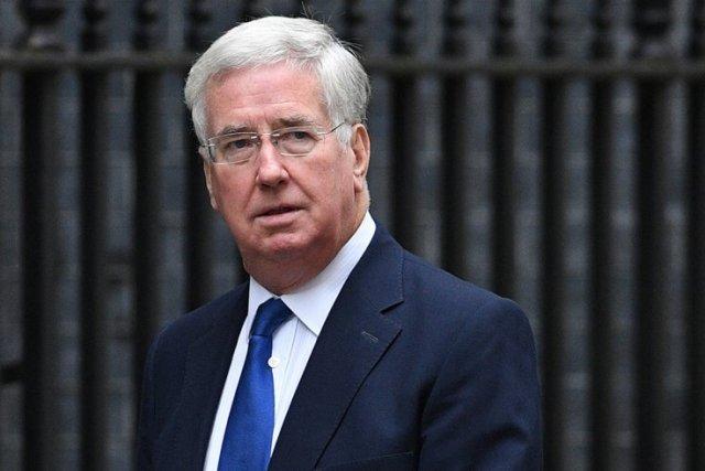 Michael Fallon, secretario de Defensa del Reino Unido / foto AFP