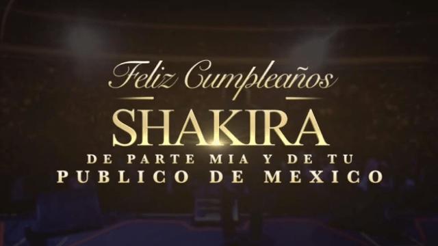 cumpleaños shakira