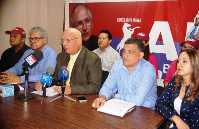 El dirigente nacional de ABP, Alcides Padilla