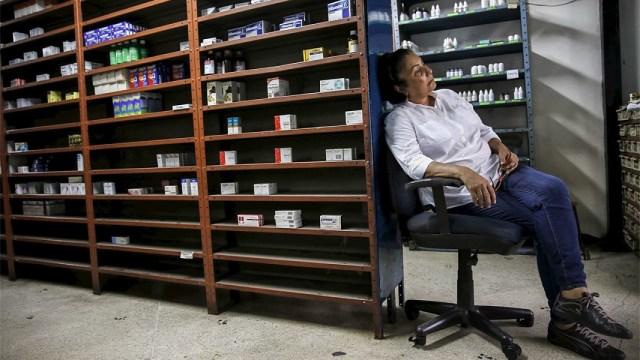 Venezuela está quedando sin medicamentos para el VIH - y lugares para acudir en busca de ayuda / Foto CARLOS GARCIA RAWLINS / REUTERS
