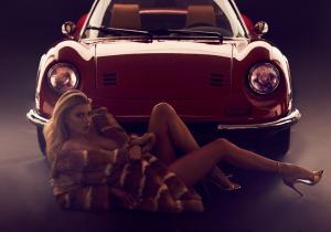 """Nenas y Naves: """"El CATIRÓN"""" Charlotte y el """"Ferrari"""" que no se llamó Ferrari"""