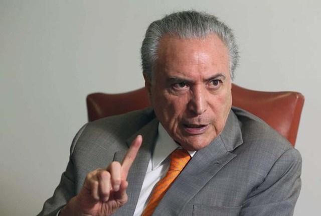 El presidente de Brasil, Michel Temer (Foto: Reuters)