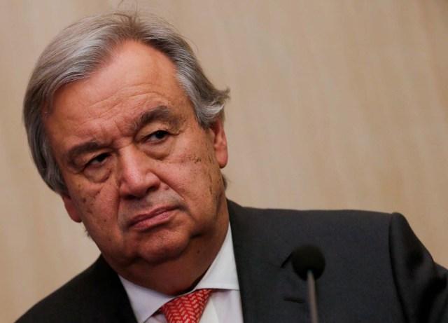 El secretario general de la ONU, Antonio Guterres  (Foto archivo REUTERS/Amr Abdallah Dalsh)