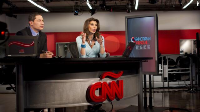 CNN Patricia Janiott y Fernando del rincon