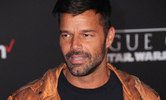 El actor y cantante puertorriqueño, Ricky Martin