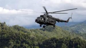 Helicóptero EV0796: Un caso entre hermetismo y grupos irregulares