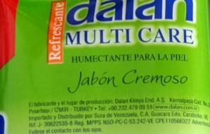 El misterio del jabón de tocador importado de Turquía que apareció en Caracas (fotos + análisis)