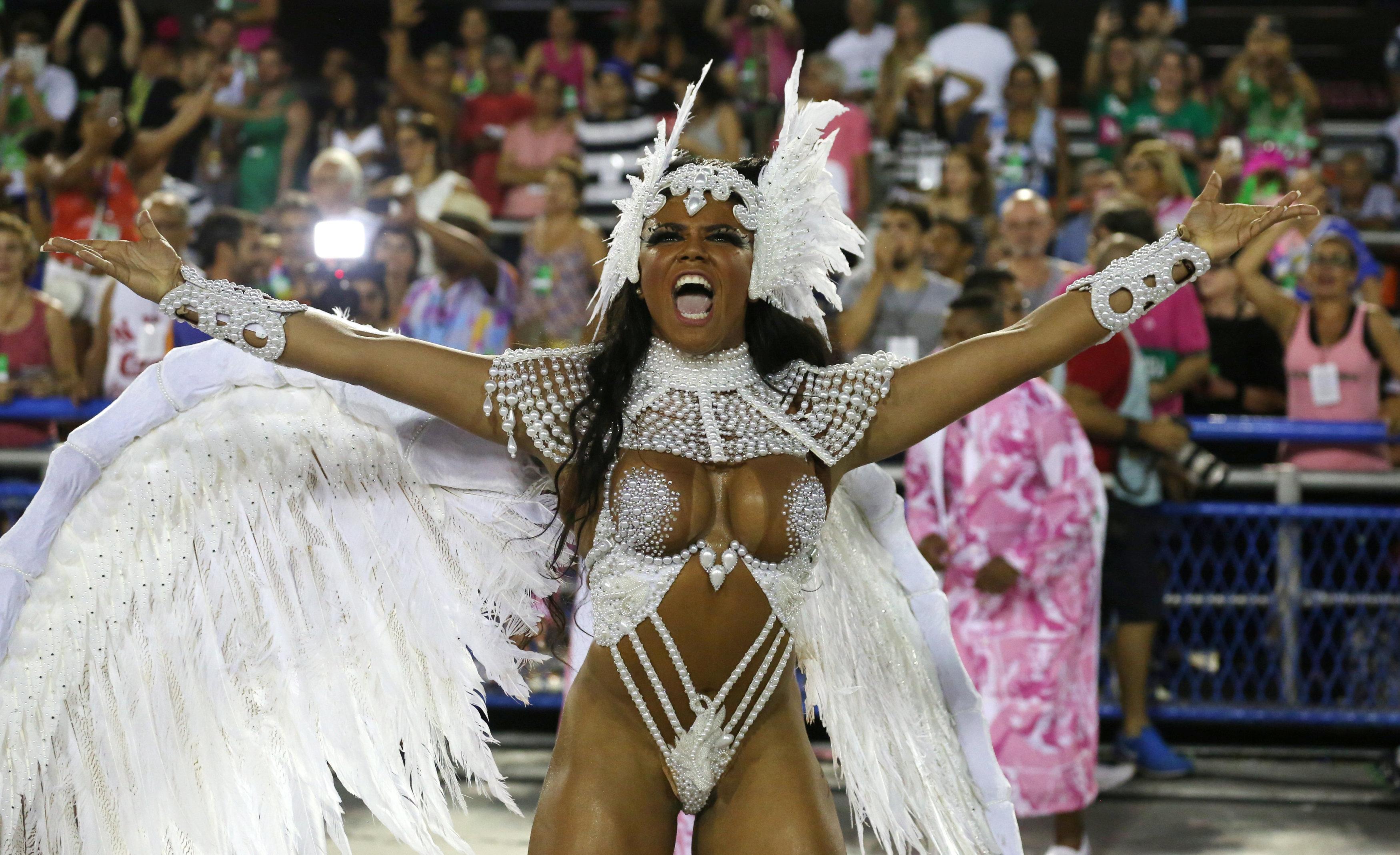 El atuendo más porno del Carnaval de Río lo tenía puesto