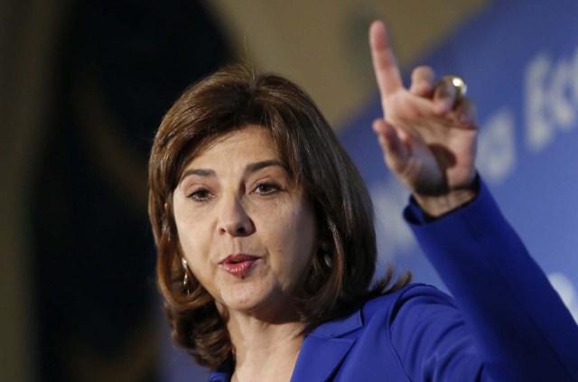 La ministra de Asuntos Exteriores colombiana, María Ángela Holguín.  Foto:  EFE/Mariscal