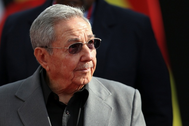 Cuba's President Raul Castro attends an ALBA alliance summit to mark the fourth anniversary of the death of Venezuela's late President Hugo Chavez in Caracas, Venezuela, March 5, 2017. REUTERS/Carlos Garcia Rawlins
