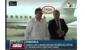 """Un festín de """"colitas"""" en aviones de Pdvsa el homenaje oficialista a Hugo Chávez (+fotos)"""