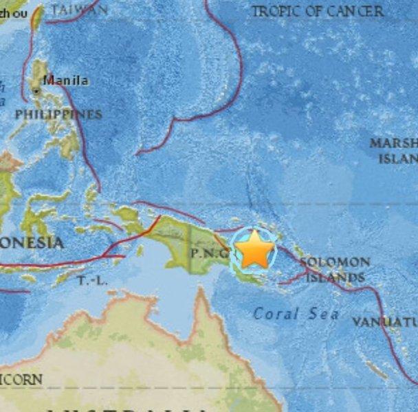 terremoto Papúa Nueva Guinea
