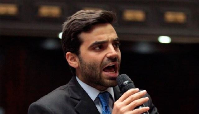 Juan Andrés Mejía, diputado a la AN aseguró que se mantendrán en las calles
