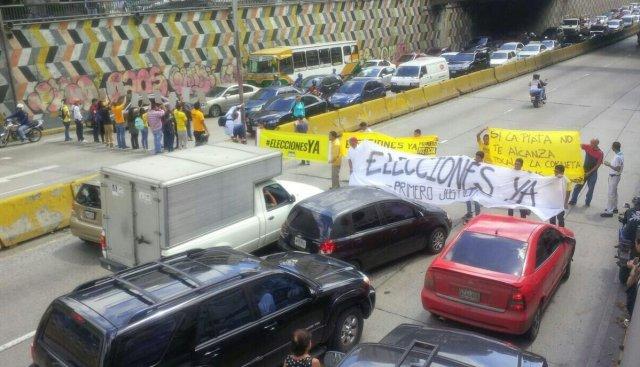 libertado protesta eleciones