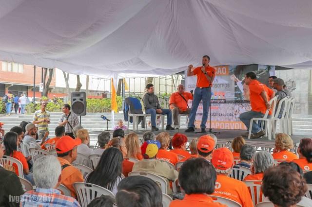 NDP 10.03.17 Alfredo Jimeno Este fin de semana Chacao defiende a Voluntad Popular