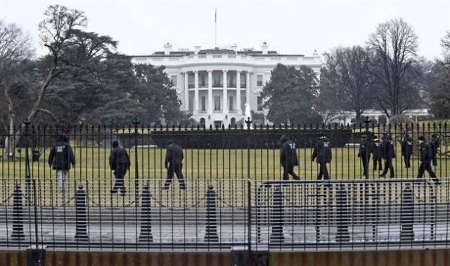 Fachada de la Casa Blanca. (Archivo)