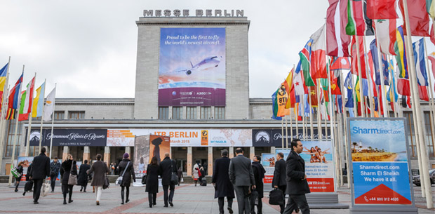 ITB Berlin 2015 - Eingang Nord - ITB Berlin 2015 - North Entrance -