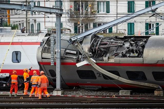 SWITZERLAND-ACCIDENT-RAIL