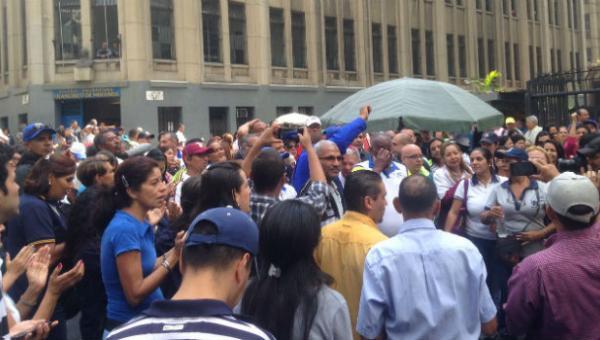 protesta trabajadores universitarios