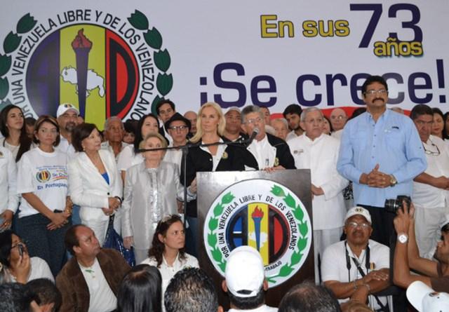 Acción Democrática. Foto: Prensa AD