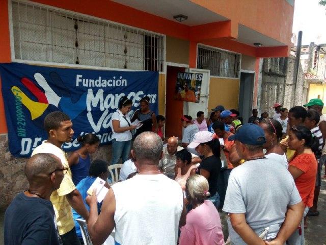 Foto: Fundación Manos para Vargas lleva atención médica a la comunidad de La Sabana / Nota de presna