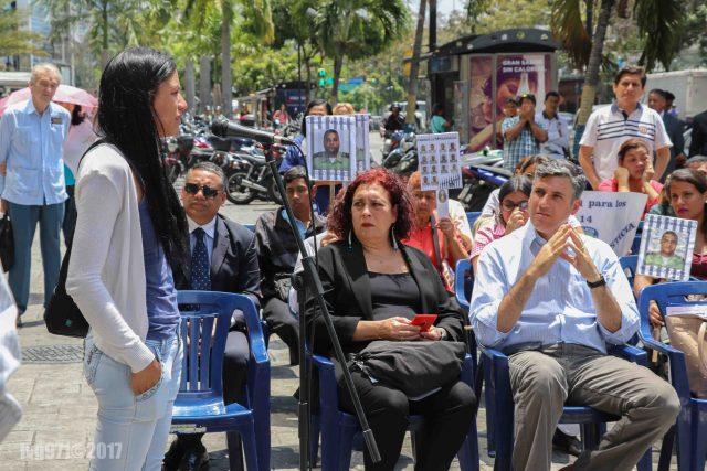 NDP 25.03.17 Alfredo Jimeno Exigimos la liberación inmediata de nuestros funcionarios injustamente detenidos