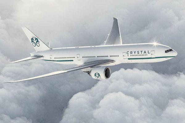 Desde el 31 de agosto el crucero aéreo ofrecerá una experiencia de viaje y lujo sin precedentes. (Crystal Cruises)