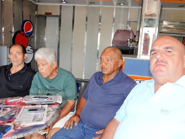 FOTO1 Dirigentes transporte