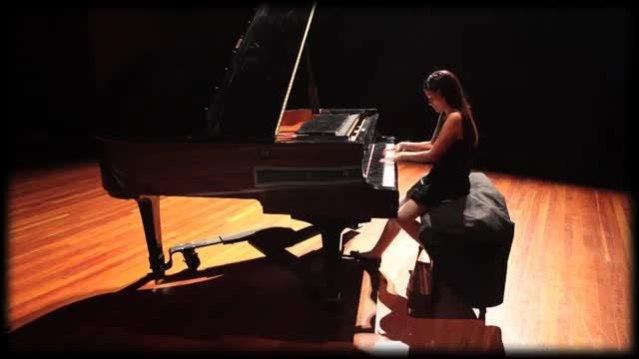 Pianista con autismo