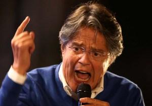 """Candidato a presidente de Ecuador pide votos para que su país """"no se convierta en Venezuela"""""""