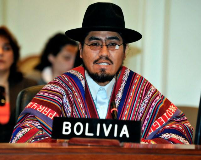 Diego Pary, embajador boliviano ante la Organización de Estados Americanos Foto: Juan Manuel Herrera/OAS
