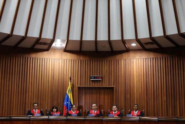 Tribunal Supremo de Justicia flexibilizó el proceso. REUTERS/Carlos Garcia Rawlins