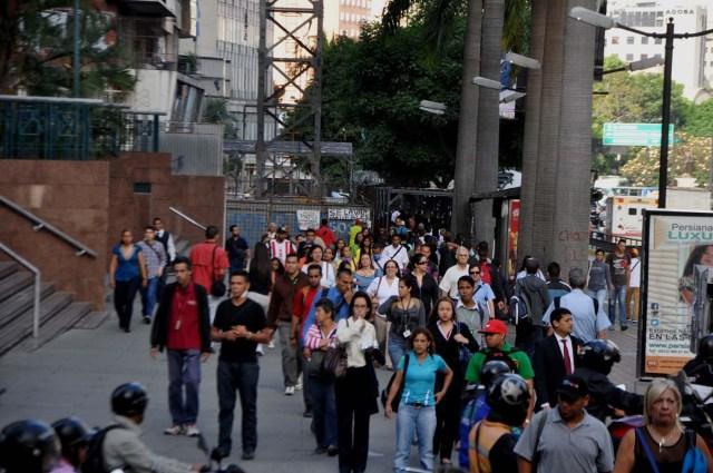 caracas caos sin metro transporte