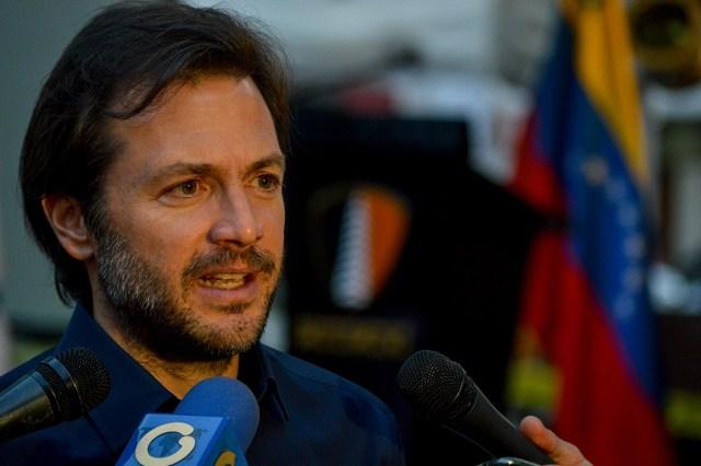 Alcalde del municipio Chacao, Ramón Muchacho