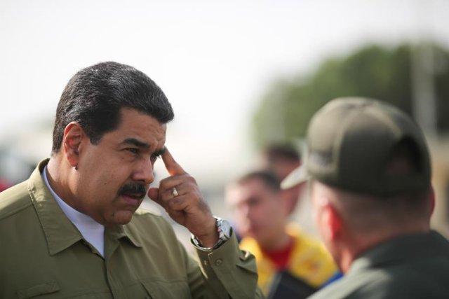 Nicolás Maduro, presidente de la República.