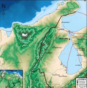 Sismo de magnitud 4.0 al oeste de Machiques