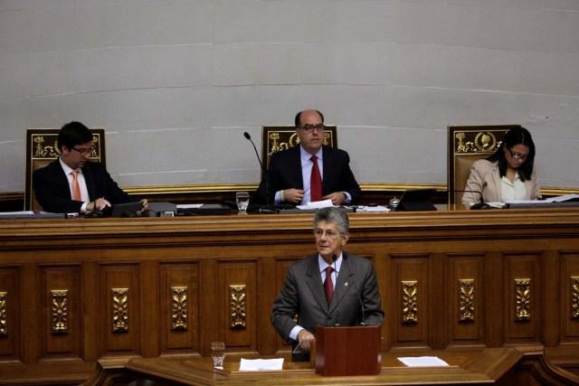 El diputado Henry Ramos Allup (Foto REUTERS/Marco Bello)