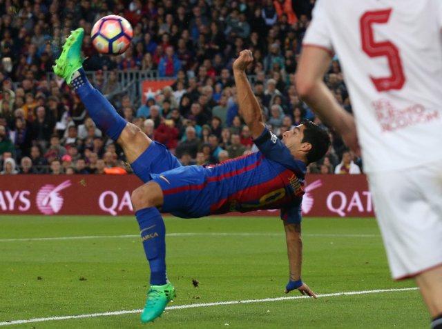 El delantero del Barcelona, Luis Suárez (Foto: Reuters)