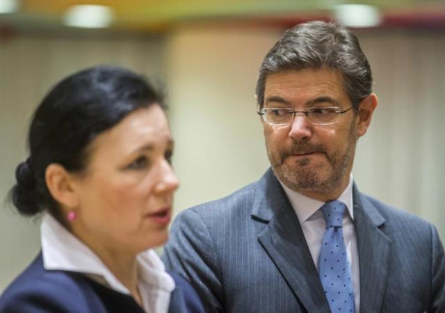 La comisaria europea para la Justicia, Vera Jourova (Foto: EFE)