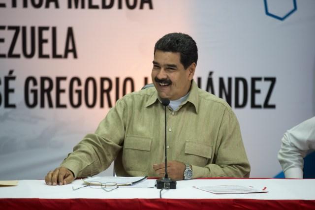 Nicolás Maduro, Presidente de la República. Foto: AVN