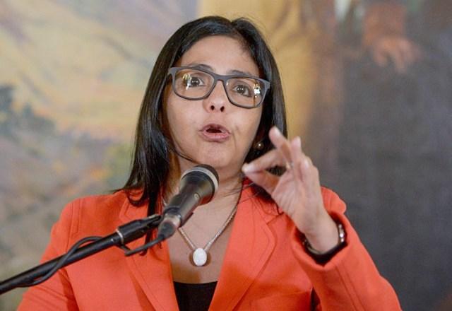 Canciller de la República, Delcy Rodríguez