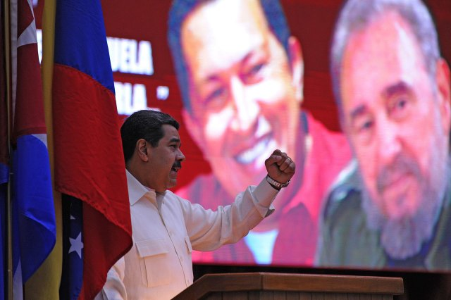 Maduro-Fidel-Hugo